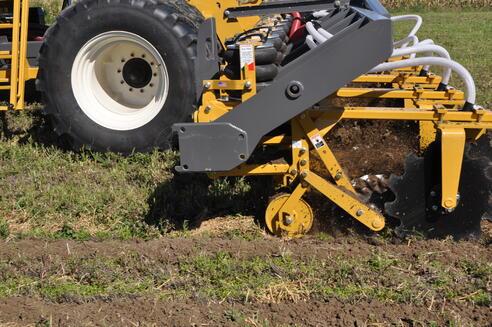 SoilWarrior XS mounted to toolbar