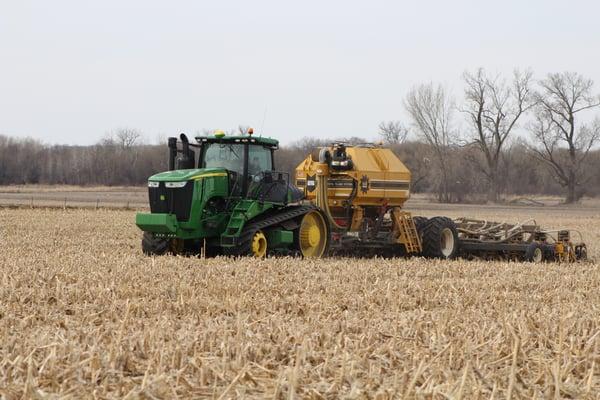 Krell running the SoilWarrior this Spring.